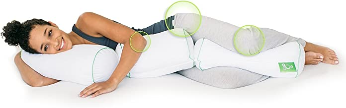 Sleep Yoga Multi-Position Body Pillow - Chiropractor-Designed Pillow to Improve Posture, Flexibility, and Sleep Quality