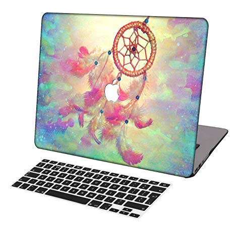 Laptop Case for MacBook Pro 13 inch Retina Model A1425/A1502,Neo-wows(2 in 1 Bundle) Plastic Ultra Slim Light Hard Shell Cover UK Keyboard Cover Compatible MacBook Pro 13 inch No CD ROM,Creative B 184