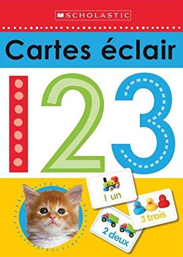 Apprendre avec Scholastic : Cartes éclair 123