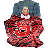College Covers Nc State Wolfpack Raschel Throw Blanket, 50' x 60'