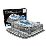 Estadio Santiago Bernabeu LED Edition (Real Madrid CF) - Nanostad - Puzzle 3D...