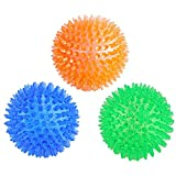Best Kong Bouncy Balls - Orgrimmar 3 Pieces Pet Squeaky Chewing Balls Dog Review