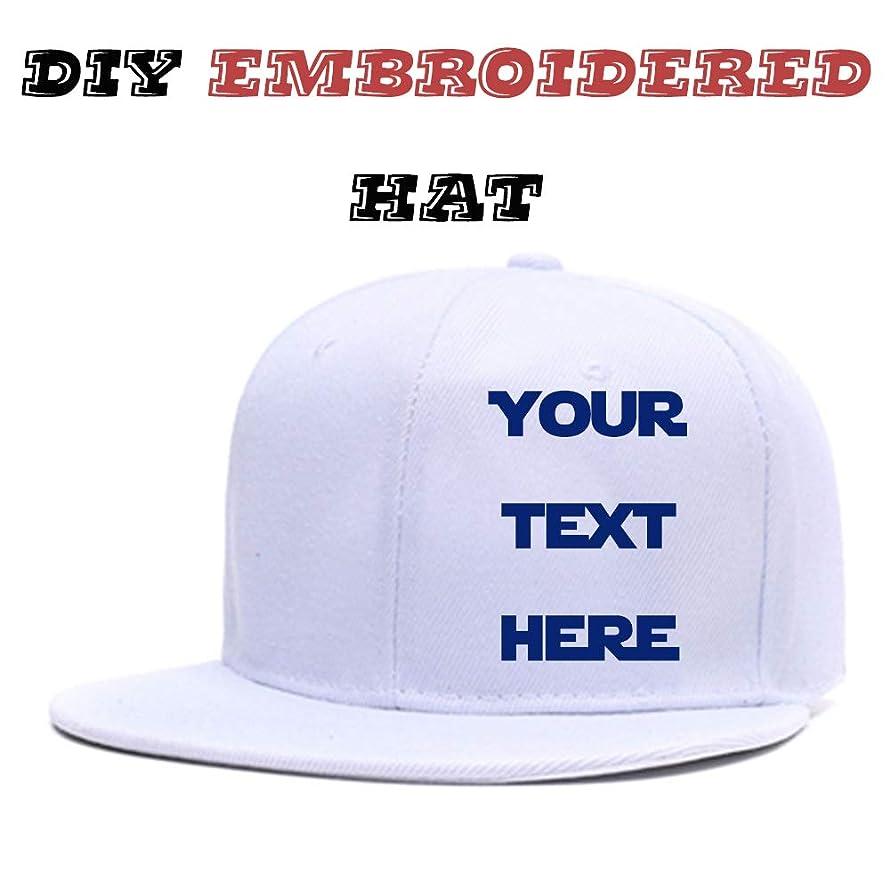 Custom Visor Hat Embroidered Design,Team Christmas Adjustable Cotton Flat Brim Hip Hop Hat Men Women Baseball Caps