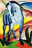 1art1 Franz Marc - Blaues Pferd I, 1911 XXL Poster 120 x 80