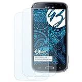 Bruni Schutzfolie kompatibel mit Samsung Galaxy K Zoom Folie, glasklare Bildschirmschutzfolie (2X)