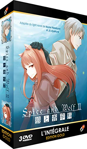 Spice and Wolf-Intégrale Saison 2-Edition Gold (3 DVD + Livret)