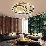 Plafoniera Ventilatore a soffitto, Illuminazione Lampada Ventilatore a LED, Telecomando 3 Tipi di...