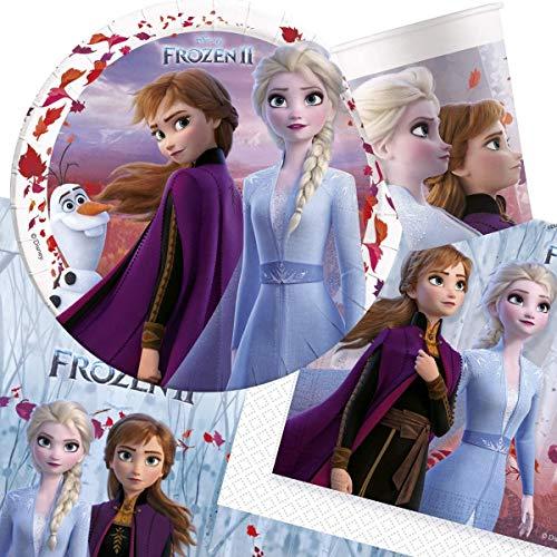 CAPRILO. Lote de Cubiertos Infantiles Compostables Frozen 2