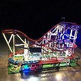 Poxl LED Beleuchtung Für Creator Expert Achterbahn Modell - LED Light LED Licht Kit Kompatibel Mit 10261 - Modell Nicht Enthalten