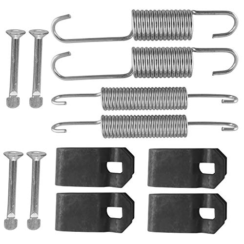 Mosnai Club Car Brake Shoes Spring Kit Fit 1980 UP DS & Precedent Club Car Brake Kits Golf Carts Brake Shoes Kit Gas/Electric 1018163-01, 1011466(2 Sets)