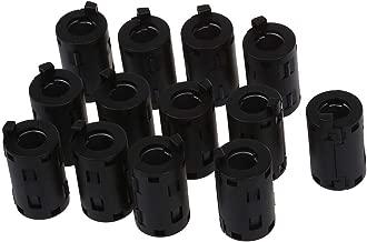 REFURBISHHOUSE 100 pzs Ataduras de cables de tipo de montura de plastico Base de montaje de tornillo 5 mm Ancho