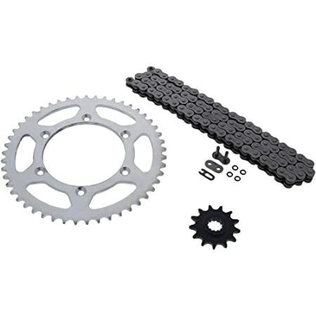 Black for 1999-2000 Suzuki RM250 Volar O-Ring Chain and Sprocket Kit