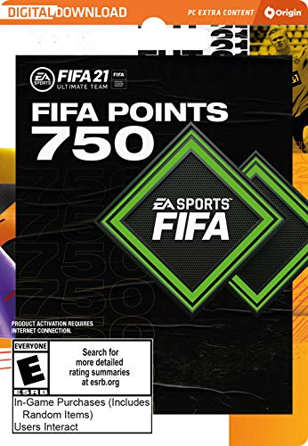 FIFA 21 Ultimate Team FIFA Points 750 - PC [Online Game Code]