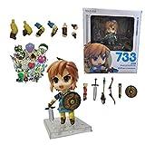 figura de zelda Figura de anime de Hyrule Fantasy: The Legend of Zelda Link Majora's the wind waker ...