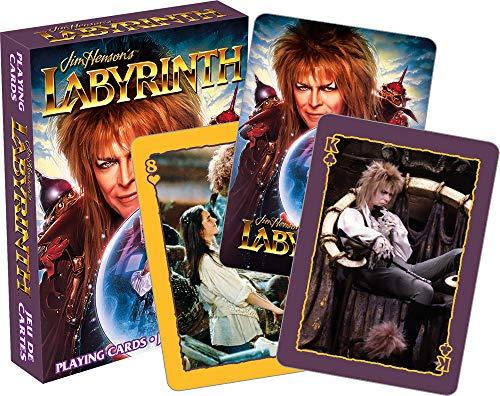 Labyrinth (David Bowie) Set mit 52 Spielkarten
