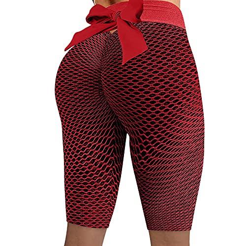 Pantalones Yoga Leggings Push Up Mujer Mallas Pantalones Degradado Secado rápidode Compresión Cintura Alta Elástico y Transpirable para Gym RunningDeportivos Alta Cintura Elásticos Yoga Fitness
