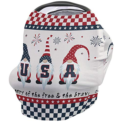 Fantastic Prices! USA Old Car Nursing Covers for Breastfeeding Baby Stroller and Car Seat Combo Gnom...