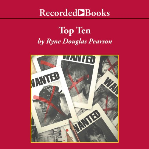 Top Ten audiobook cover art