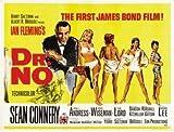 DR NO - James Bond – Sean Connery – U.S Movie Wall