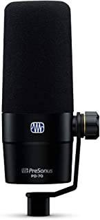 PreSonus, 1 Vocal Dynamic Microphone, XLR, Black (PD-70)