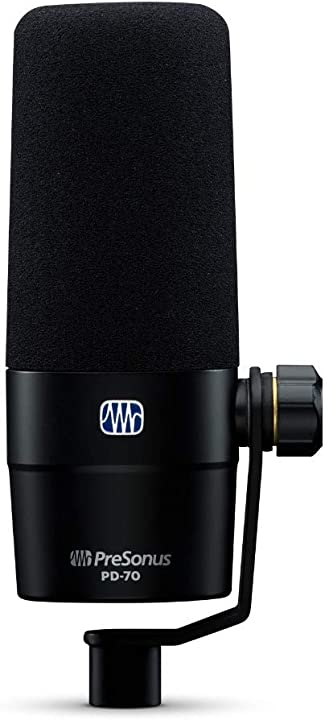 Microfono dinamico cardioide per trasmissioni presonus pd-70