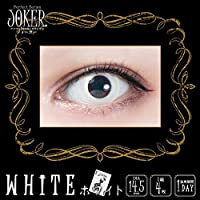 パーフェクトワンデー ジョーカー 【 ホワイト (白)】-7.00 (1箱4枚) コスプレ カラコン ハロウィン