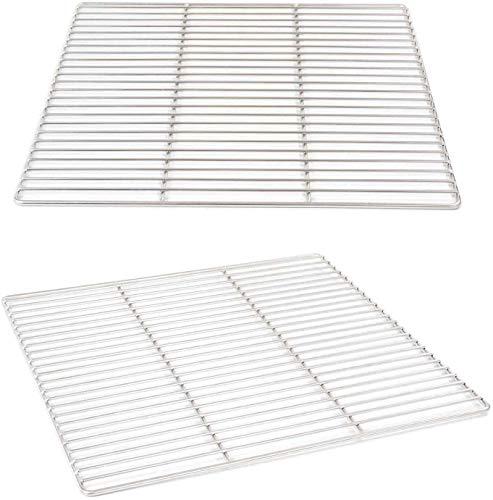 Grillrost 40 x 40 cm aus Edelstahl rostfrei und elektropoliert