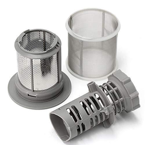 Spülmaschine Siebset für Siemens SE 427903, 3-teilig, Grau