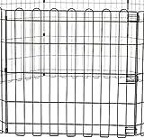 Zoom IMG-2 amazon basics recinzione in metallo