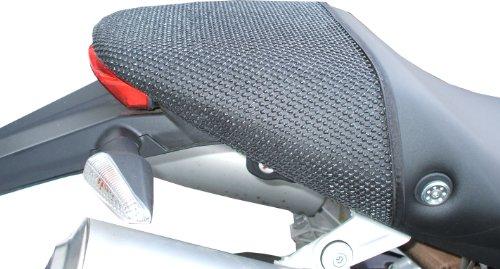 Cubierta TRIBOSEAT para Asiento Antideslizante Accesorio Personalizado Negro Compatible con Ducati Monster...