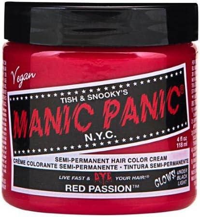 マニックパニック カラークリーム レッドパッション