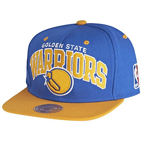 Mitchell & Ness NBA Golden State Warriors Team Arch Snapback Cap NA80Z Kappe