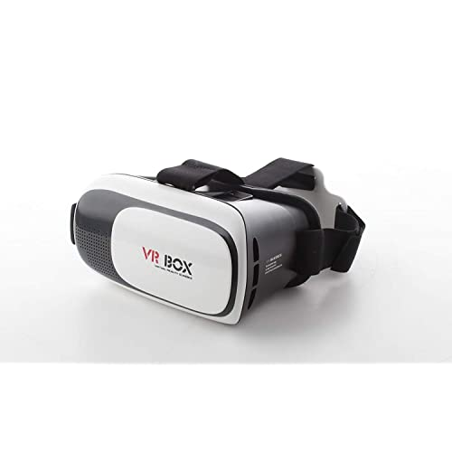 b742dd09e120 KNK Virtual Reality Glasses 3D VR Box Headsets for Mobile Phones - White
