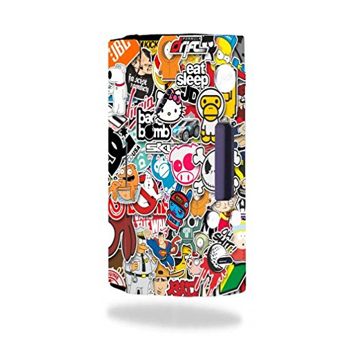 Decal Sticker Skin WRAP - Wismec Reuleaux RX200 - Popular Sticker Bomb