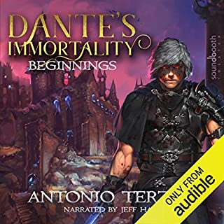 Dante's Immortality: Beginnings audiobook cover art