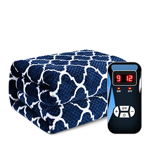 Comfort Electric Blanket Electric Heated Throw Over Under Blanket Bed Washable Soft Mattress 4 Heat Modes Machine Washable (Size : 180 * 150cm)
