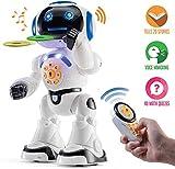 Top Race Robot Hablando de Juguete, Caminar, Control Remoto, Bailar,...