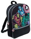 Marvel Comics Avengers - Zaino grande di lusso, per scuola e viaggi