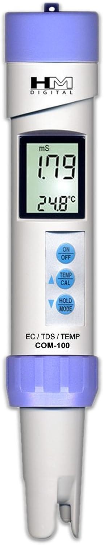 HM Digital Meters HM Digital COM100 Waterproof EC TDS Temp Combo Meter