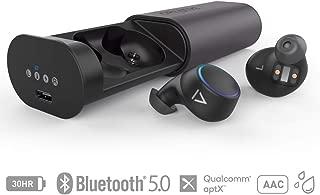 【改良版】 Creative Outlier Air 最大10時間+20時間充電可能ケース付 IPX5 Bluetooth 5.0 aptX/AAC対応 クアルコム社 QCC3020採用完全ワイヤレスイヤホン HS-OTLAR-BK