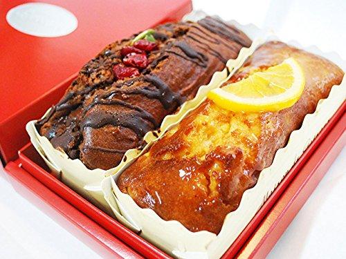 熟成日本酒パウンドケーキ ビターオレンジ&チョコレート2本セット