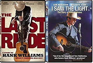 The Last Ride & I Saw the Light - The Story of Hank Williams 2-Pack DVD