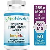 ProHealth Optimized Curcumin Longvida 60 Capsules (500 mg)
