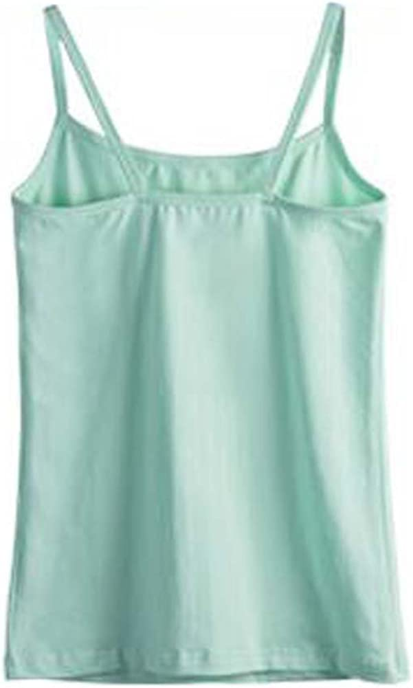 George Jimmy Sexy Fashion Women's Camisole Soft Vest Skinny Tank Top, 6 Light Green