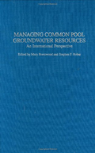 Managing Common Pool Groundwater Resources: An International Perspective
