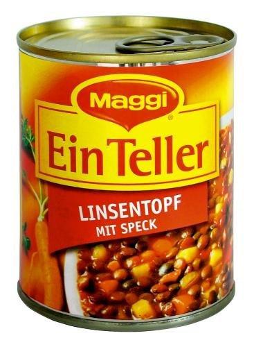 Maggi 1 Teller Linsentopf mit Speck 330g