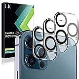 LK Compatible con iPhone 12 Pro MAX 6.7 Pulgada Cámara Trasera Lente Pantalla, 3 Pack,Protector Cámara Vidrio Templado