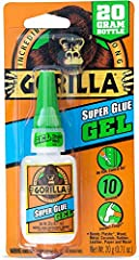 GEL FORMULA: No run control gel formula that is great for use on vertical surfaces ANTI CLOG CAP: Helps keep glue from drying out. It's Gorilla tough use after use IMPACT TOUGH: Specially formulated for increased impact resistance and strength. FAST-...