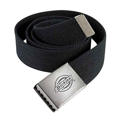 Dickies Mens Canvas Belt/Accessories (One Size) (Black)