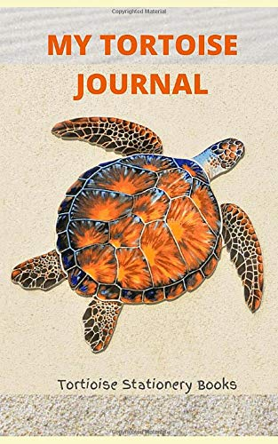 My Tortoise Journal: Lined Notebook Journal|150 pages|Portable|Small Size 5'x8'